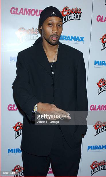 RZA during Miramax Glamour Golden Globe After Party Arrivals at Trader Vics in Beverly Hills California United States