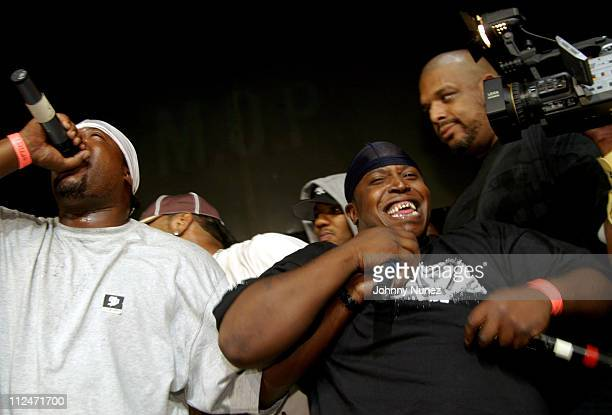MOP during Mobb Deep Presents 'Amerikaz Nightmare' Album Release at Spirit in New York City New York United States