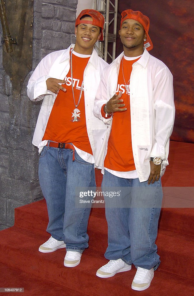 B2K during MTV Movie Awards 2004 - Arrivals at Sony Pictures Studios in Culver City, California, United States.