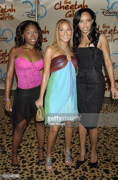 3LW during New York Premiere of Disney's 'The Cheetah Girls' at La Guardia High School in New York City New York United States