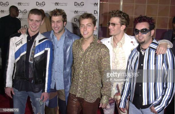 NSYNC during *NSYNC in Concert Premiere at Imax Theater in Los Angeles California United States
