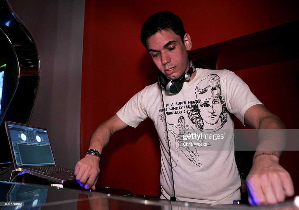 DJ AM during Ok! Magazine US Debut Launch Party at LAX in Los Angeles, California, United States.
