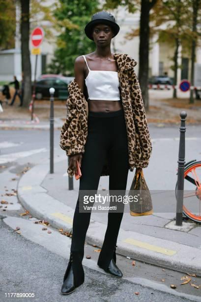 during Paris Fashion Week Womenswear Spring Summer 2020 on September 29 2019 in Paris France