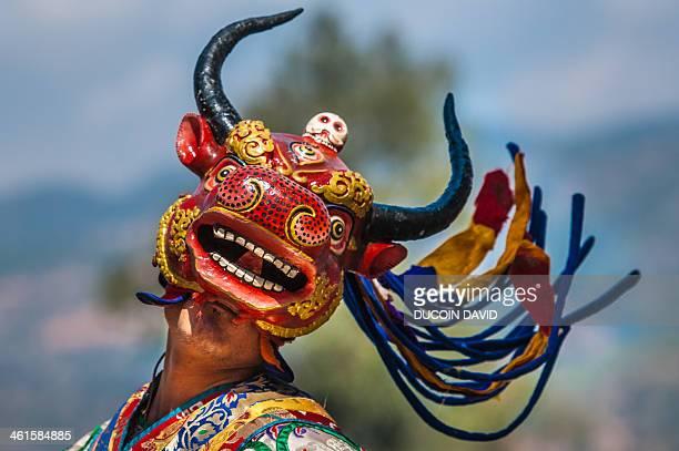 During Paro Tsechu festival, Bhutan