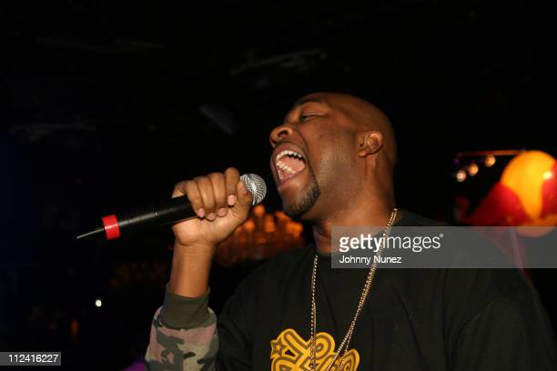 During Roc Box Presents Kanye West in Concert - October 8, 2005 at Hard Rock Cafe in New York City, New York, United States.