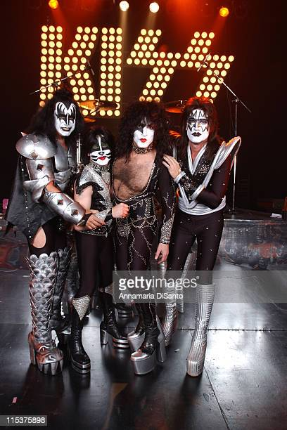 KISS during Special Performance of KISS on the Season Opener of 'That 70's Show' at Hollywood Studios in Los Angeles California United States