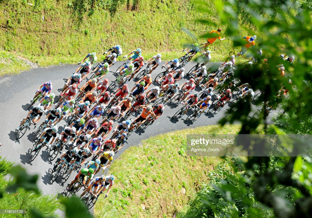 During Stage 9 of the Tour de France on July 10, 2011 from Issoire to Saint-Flour, France.