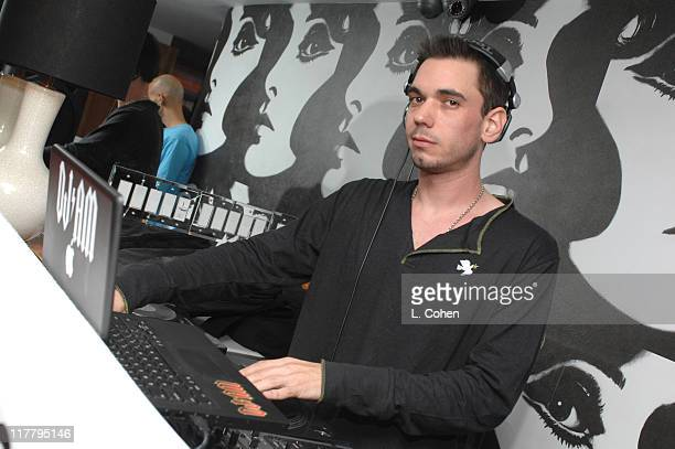 DJ AM during Target Hosts LA Fashion Week Party for Designer Mossimo Giannulli Inside at Area in West Hollywood California United States