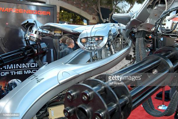T14 during Terminator 3 Rise of the Machines World Premiere at Mann Bruin in Los Angeles California United States