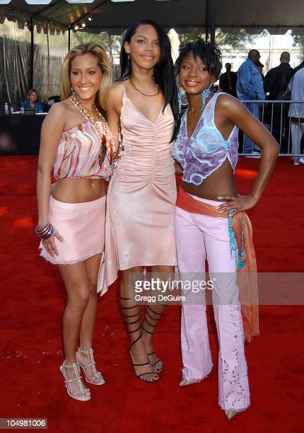 3LW during The 16th Annual Soul Train Music Awards Arrivals at LA Sports Arena in Los Angeles California United States