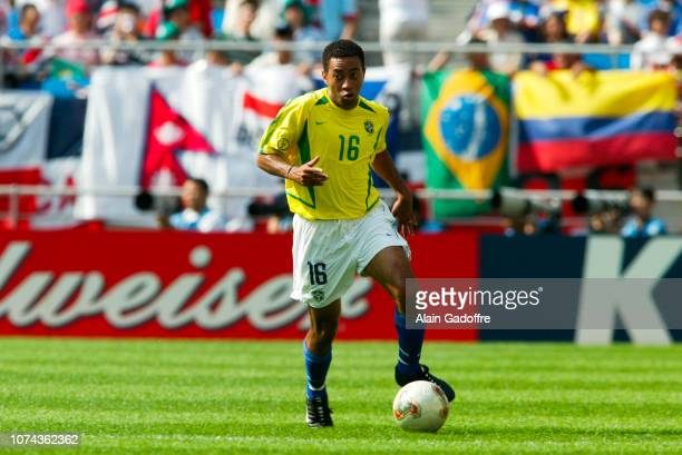 During the 2002 FIFA World Cup match between Costa Rica and Brazil on June 13, 2002 in Suwon Stadium, South Korea.