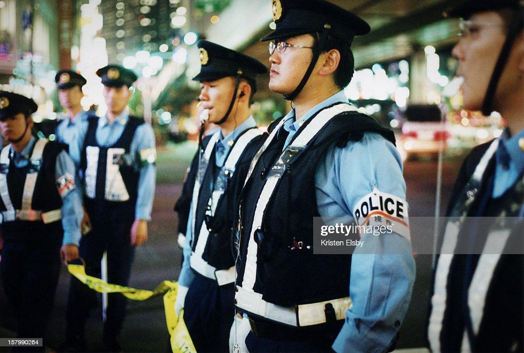 During the 2002 World Cup held jointly in Japan and Korea, soccer mania overcame Japan and transformed it into a nation of jubilant fans overflowing the streets. Roppongi was at the heart of the nightly celebrations in Tokyo. The police force were also out in record numbers to ensure that the festivities didn't get out of hand.