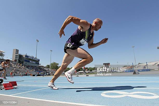During the 2010 USA Outdoor Track & Field Championships at Drake Stadium on June 25, 2010 in Des Moines, Iowa.