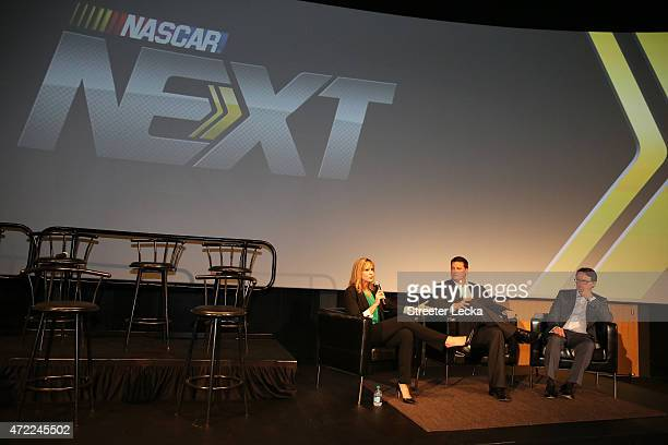 during the 20152016 NASCAR Next Class at NASCAR Hall of Fame on May 5 2015 in Charlotte North Carolina