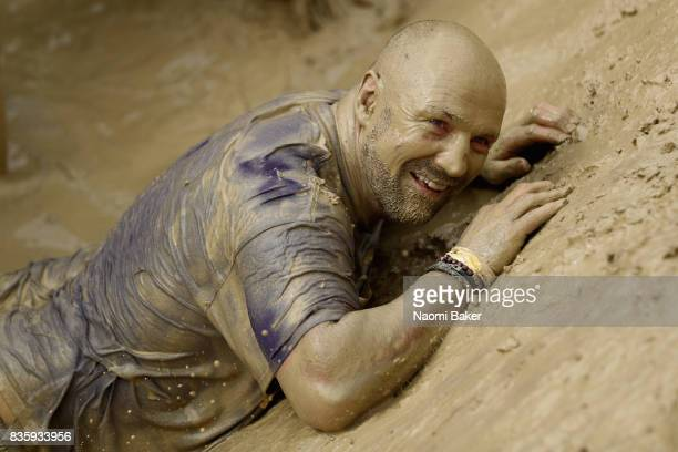 during the 2017 Tough Mudder South West at Badminton Estate on August 20 2017 in Cirencester England