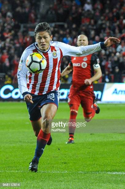 GODINEZ during the 2018 CONCACAF Champions League Final match between Toronto FC and CD Chivas Guadalajara at BMO Field in Toronto Canada on April 17...