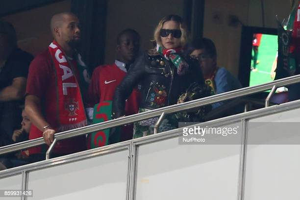 during the 2018 FIFA World Cup qualifying football match between Portugal and Switzerland at the Luz stadium in Lisbon Portugal on October 10 2017...