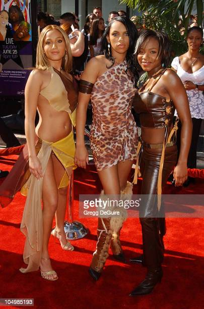 3LW during The 2nd Annual BET Awards Arrivals at The Kodak Theater in Hollywood California United States