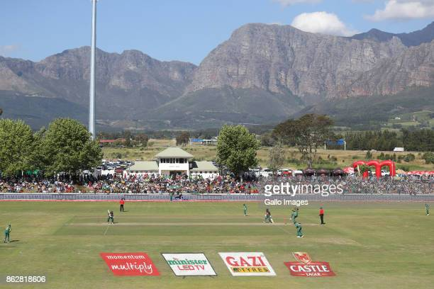 GV during the 2nd Momentum ODI match between South Africa and Bangladesh at Boland Park on October 18 2017 in Paarl South Africa