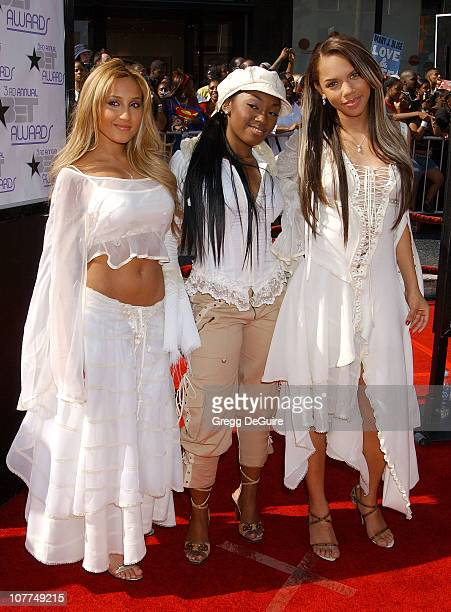 3LW during The 3rd Annual BET Awards Arrivals at The Kodak Theater in Hollywood California United States