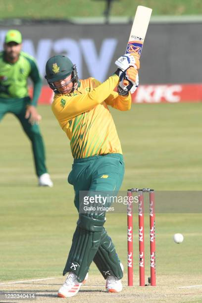 During the 4th KFC T20 International match between South Africa and Pakistan at SuperSport Park on April 16, 2021 in Pretoria, South Africa.
