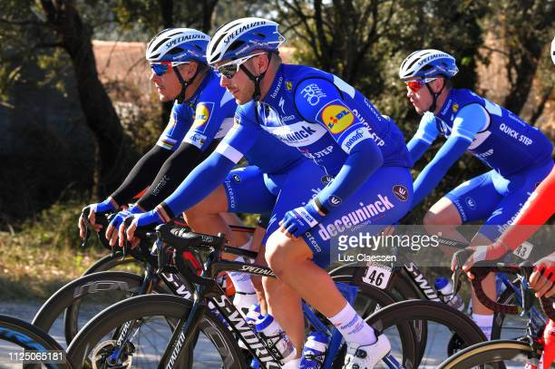 during the 4th Tour de La Provence 2019 Stage 2 a 1956km race from Istres to La Ciotat Boulevard Anatole France / TDLP / @laprovence / on February 15...