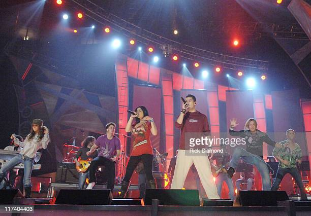 RBD during The 7th Annual Latin GRAMMY Awards Rehearsals Day 2 at Madison Square Garen in New York City New York United States