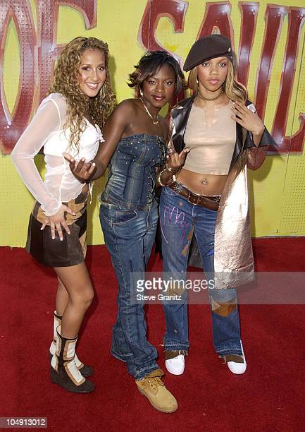 3LW during The 7th Annual Soul Train Lady of Soul Awards Arrivals at Santa Monica Civic Auditorium in Santa Monica California United States