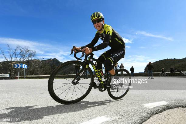 During the 98th Volta Ciclista a Catalunya 2018, Stage 4 a 170,8km stage from Llanars-Vall De Camprodon to La Molina-Alp 1590m on March 22, 2018 in...