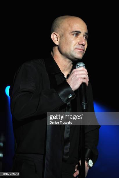 During the Andre Agassi Foundation for Education's 16th Grand Slam for Children benefit concert at the Wynn Las Vegas on October 29, 2011 in Las...