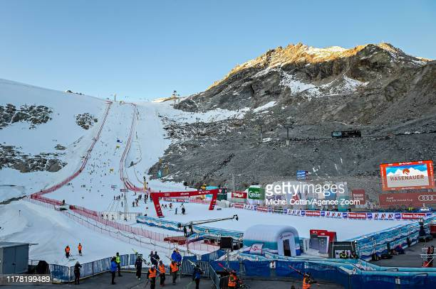 During the Audi FIS Alpine Ski World Cup Women's Giant Slalom on October 26, 2019 in Soelden, Austria.