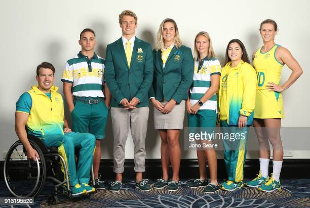 during the Australian Commonwealth Games Team Uniform Launch at The Star on February 2 2018 in Gold Coast Australia
