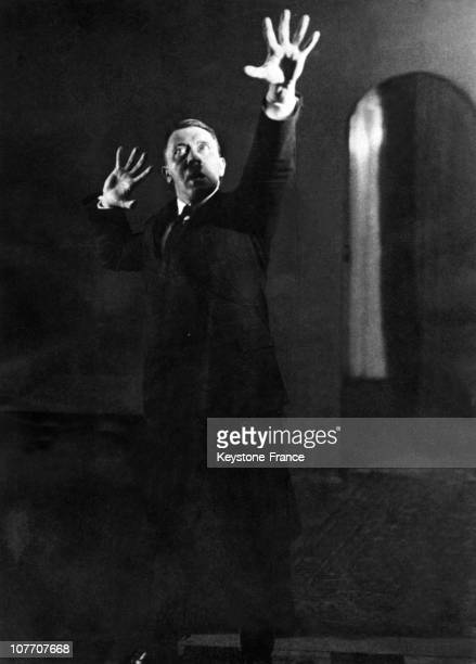 During The Autumn Of 1925 In Munich Heinrich Hoffmann Hitler'S Personal Photographer Took A Series Of Photographs Of The Führer In The Process Of...