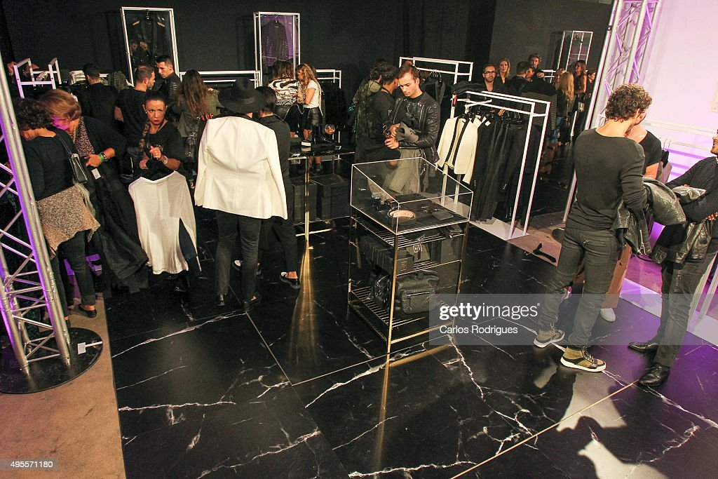During the Balmain Launch Event in Lisbon on November 3, 2015 in Lisbon, Portugal.