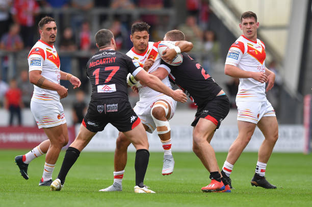 GBR: Salford Red Devils v Catalans Dragons - Betfred Super League