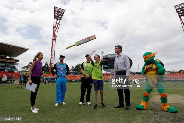 during the Big Bash League match between the Sydney Thunder and the Adelaide Strikers at Spotless Stadium on January 13 2019 in Sydney Australia
