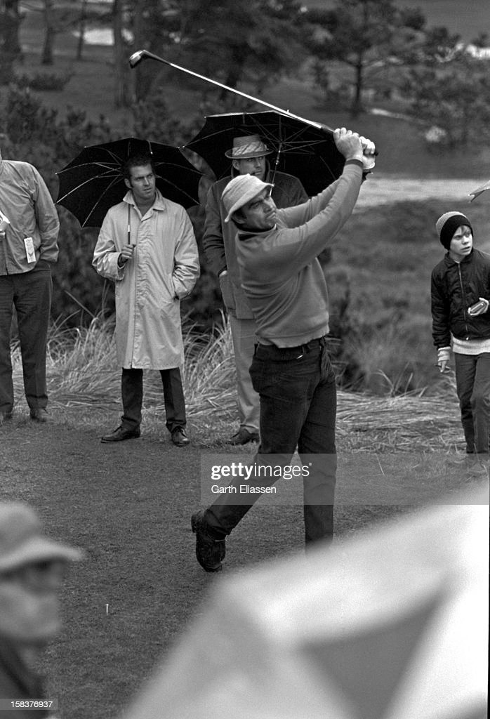 Sean Connery At Crosby Pro-Am : News Photo