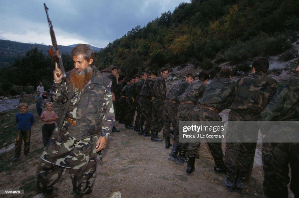 Mujahideens During The Bosnian War News Photo