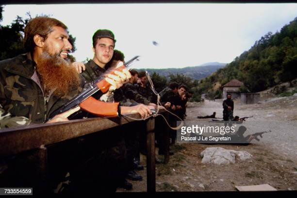 During the Bosnian war 19921995 some foreign Muslims came to Bosnia as mujahideen The number of foreign Muslim volunteers was estimated at about 4000