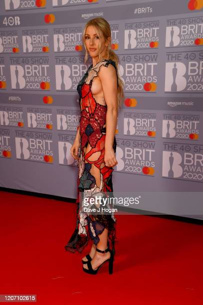 During The BRIT Awards 2020 at The O2 Arena on February 18, 2020 in London, England.