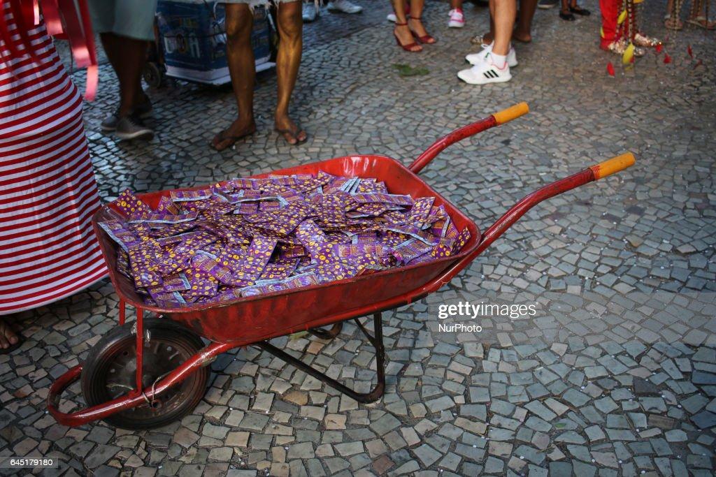 Carnival blocks animate the streets of Rio de Janeiro : News Photo