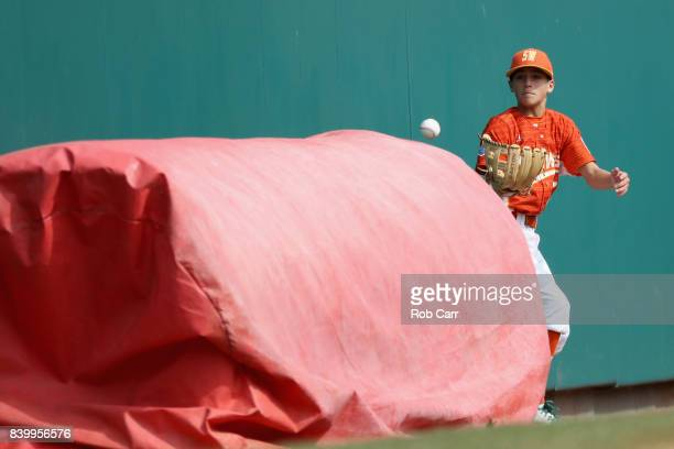 during the Champioinship Game of the Little League World Series at Lamade Stadium on August 27 2017 in South Williamsport Pennsylvania