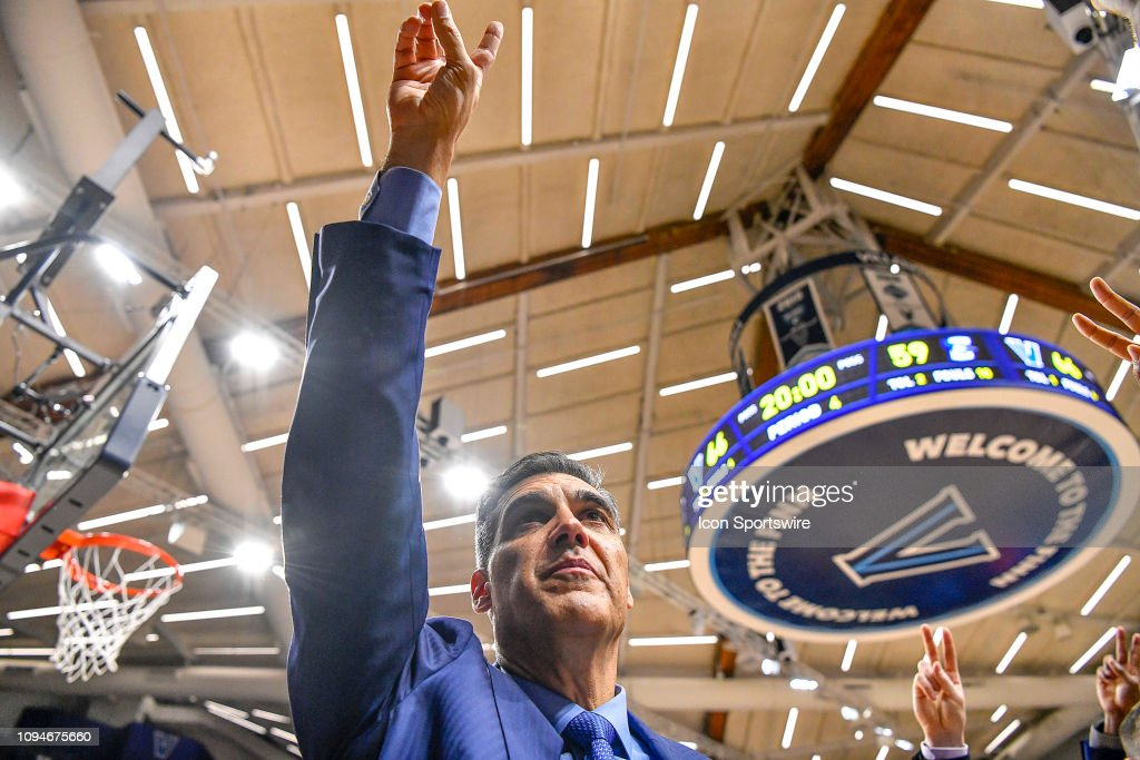 COLLEGE BASKETBALL: FEB 06 Creighton at Villanova : News Photo