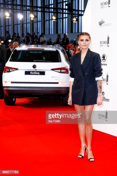 during the Echo award red carpet on April 6 2017 in Berlin Germany