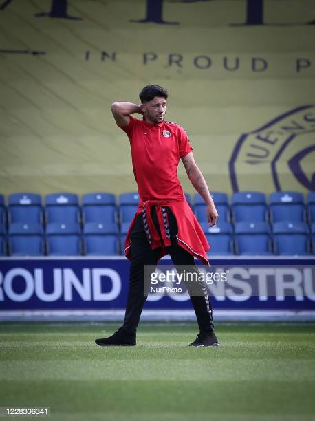 during the EFL Trophy match between AFC Wimbledon and Charlton Athletic at The Kiyan Prince Foundation Stadium London England on September 1 2020