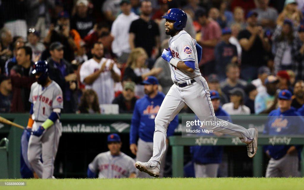during the eighth inning at Fenway Park on September 14, 2018 in Boston, Massachusetts.