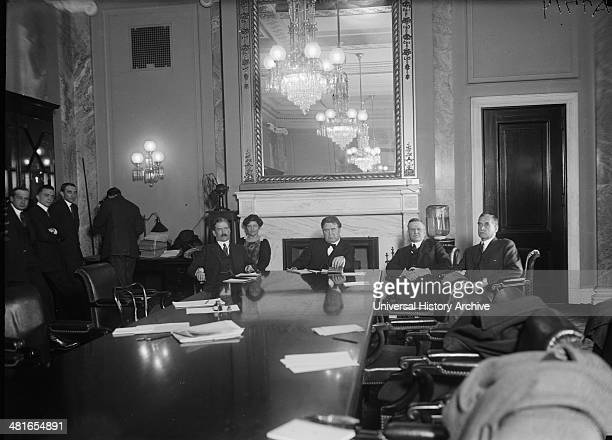 During the era of the anticommunist red menace a Senate Committee was appointed to investigate charges that the Russian Soviet Govt had attempted to...