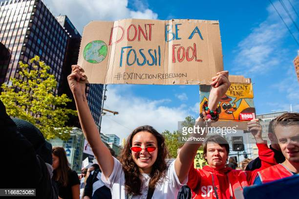 During the famous world harbor days of Rotterdam a Climate demonstration was organized by several organizations to demand that the harbor takes its...