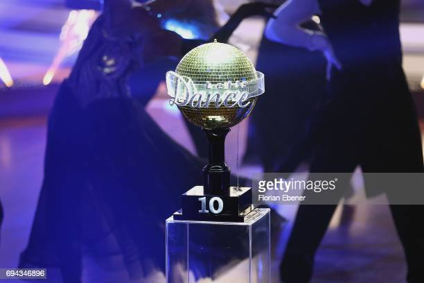 During the final show of the tenth season of the television competition 'Let's Dance' on June 9 2017 in Cologne Germany