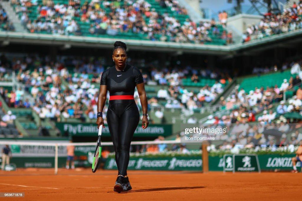 TENNIS: MAY 29 French Open : Foto di attualità